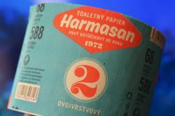 Toaletní papír z Harmaneckých papíren