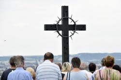 Kříž na Švédských šancích u Přerova