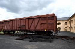 Vlak Lustig v Terezíně