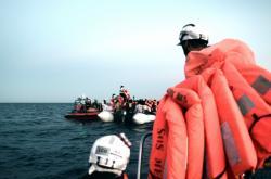 Záchrana migrantů na moři