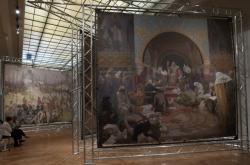 Výstava části Slovanské epopeje v Obecním domě