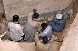 Nález keramické dílny z doby stavitelů pyramid