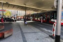 U Anděla se srazily dvě tramvaje