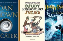 Často nepřečtené knihy podle průzkumu knihkupectví Martinus.cz