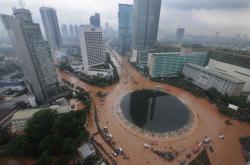 Záplavy v Jakartě v roce 2013