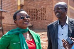 Omilostněná rwandská politička Victoire Ingabireová