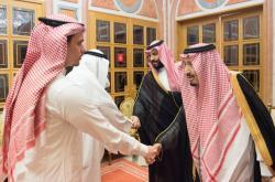 Saúdský král Salmán v Rijádu kondoloval Chášakdžího rodině