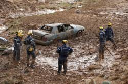Bleskové povodně v Jordánsku