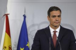 Španělský premiér Pedro Sanchéz