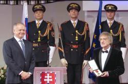 Andrej Kiska oceňuje Miroslava Žbirku