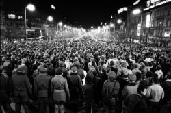 Demonstrace na Václavském náměstí 18. ledna 1989