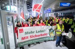Stávka na letišti Düsseldorf