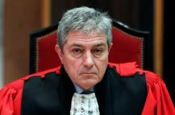 Belgický prokurátor Bernard Michel