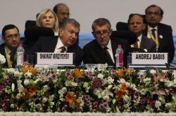 Premiér Andrej Babiš na fóru Vibrant Gujarat Summit v Indii