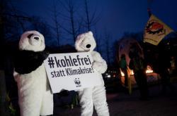 Protesty za co nejrychlejší odklon od uhelné energie v Německu