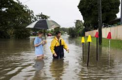 Povodně v australském Townsvillu