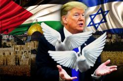 Donald Trump a mír v Izraeli