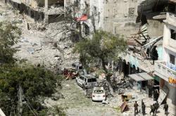 Následky po útoku v Mogadišu