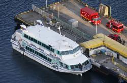 Japonský trajekt se srazil s velrybou