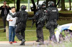 Policisté po střelbě v Christchurchi