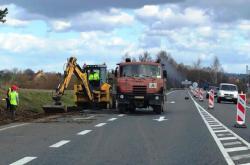 Oprava silnice I/3 mezi Bystřicí a Tožicemi na Benešovsku