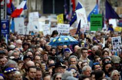 Pochod proti brexitu v Londýně