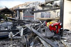 Raketa zasáhla dům v Izraeli