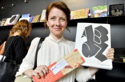 Denisa Šedivá, autorka knihy ABCZ aneb H jako Havel, která vyhrála první místo v kategorii Učebnice a ostatní didaktické pomůcky