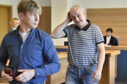 Marcel Forman a Pavel Pávek u soudu