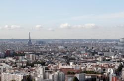 Panorama Paříže