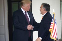 Donald Trump a Viktor Orbán