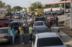 Fronta na benzin ve Venezuele