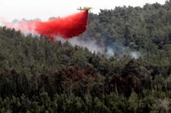 Hašení požárů v Izraeli