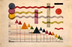 Miroslav Ponc / Kresba č. 4, kolem 1925, Galerie hlavního města Prahy
