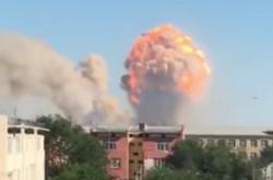 Exploze v kazašském Arysu