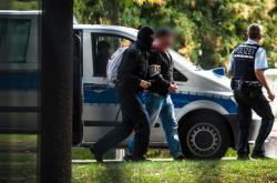 Policejní zásah proti pravicovému extremismu