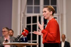 Budoucí dánská premiérka Mette Frederiksenová