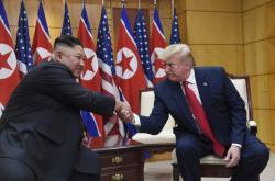 Setkání severokorejského vůdce a amerického prezidenta