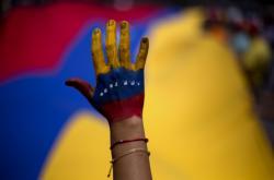 Venezuelský opoziční protest