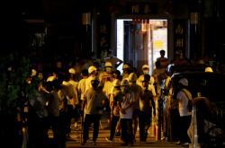 Maskovaní útočníci v Hongkongu