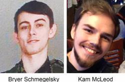 Mladíci podezřelí z vraždy tří lidí