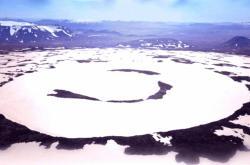 Někdejší ledovec Okjokull