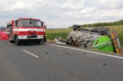 Tragická nehoda u Drobovic