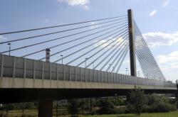 Lanový most na Jižní spojce