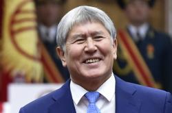 Bývalý kyrgyzský prezident Almazbek Atambajev
