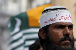 Protest za Kašmír v Karáčí