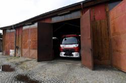 Hasičská stanice v Holešovicích