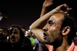 Protest proti Sísímu v Káhiře