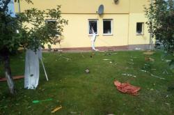 Výbuch plynu v domě v Kerharticích