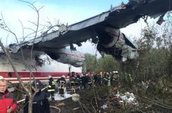 Nehoda ruského nákladního letounu u Lvova